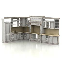 Objet 3d gratuit model 3d gratuit objets meubles de - Model element de cuisine photos ...