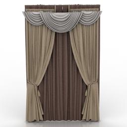 Model Rideau : objet 3d gratuit,model 3d gratuit,objets rideaux 3d ...